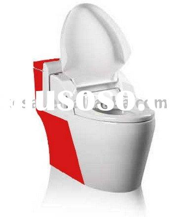 Two color Integration automatic toilet, Remote control Toilet Seat, Anergy saving, auto body-cleanin