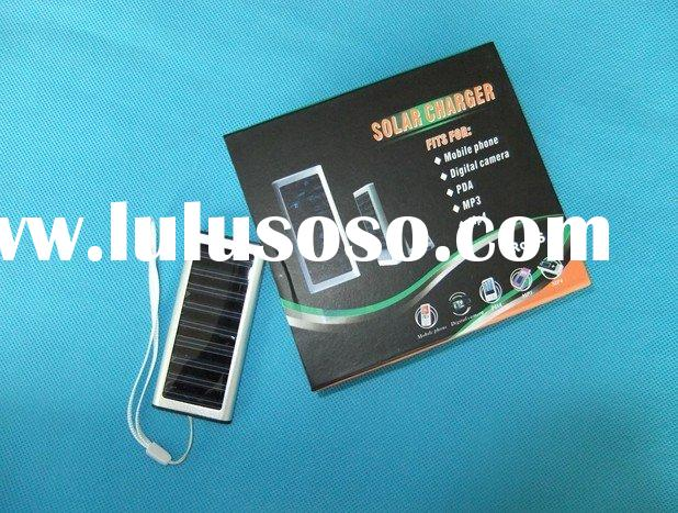 Ultra Thin Solar Powered Backup Battery and Charger for Cell Phones, iPhone, iPod, and Most USB Powe