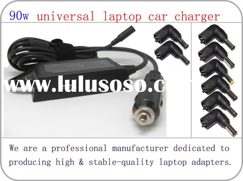 Universal laptop adapter car charger 90W