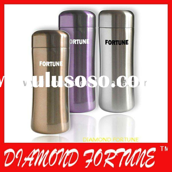 Vacuum flasks, 12oz capacity, double wall stainless steel