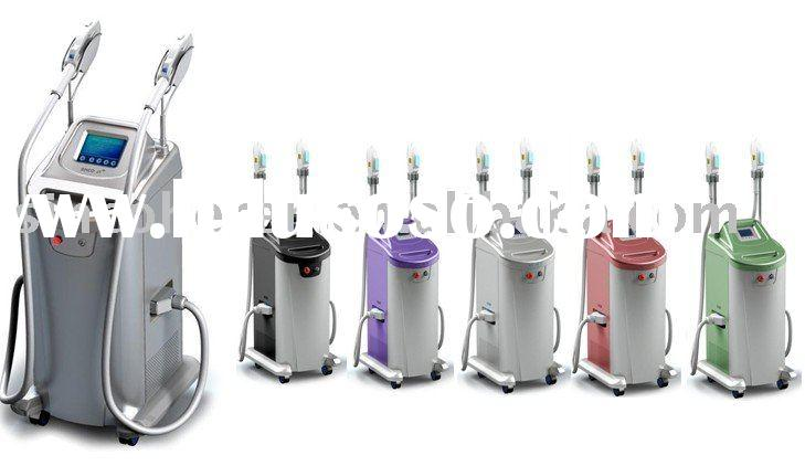 Vertical IPL hair removal, new color
