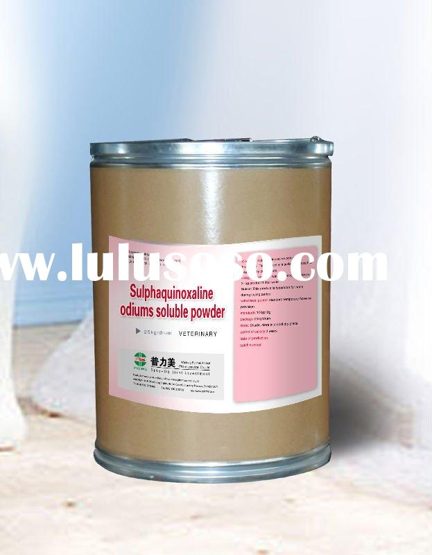 Veterinary animal medicines/Poultry medicines/Sulphaquinoxaline Odiums Soluble Powder