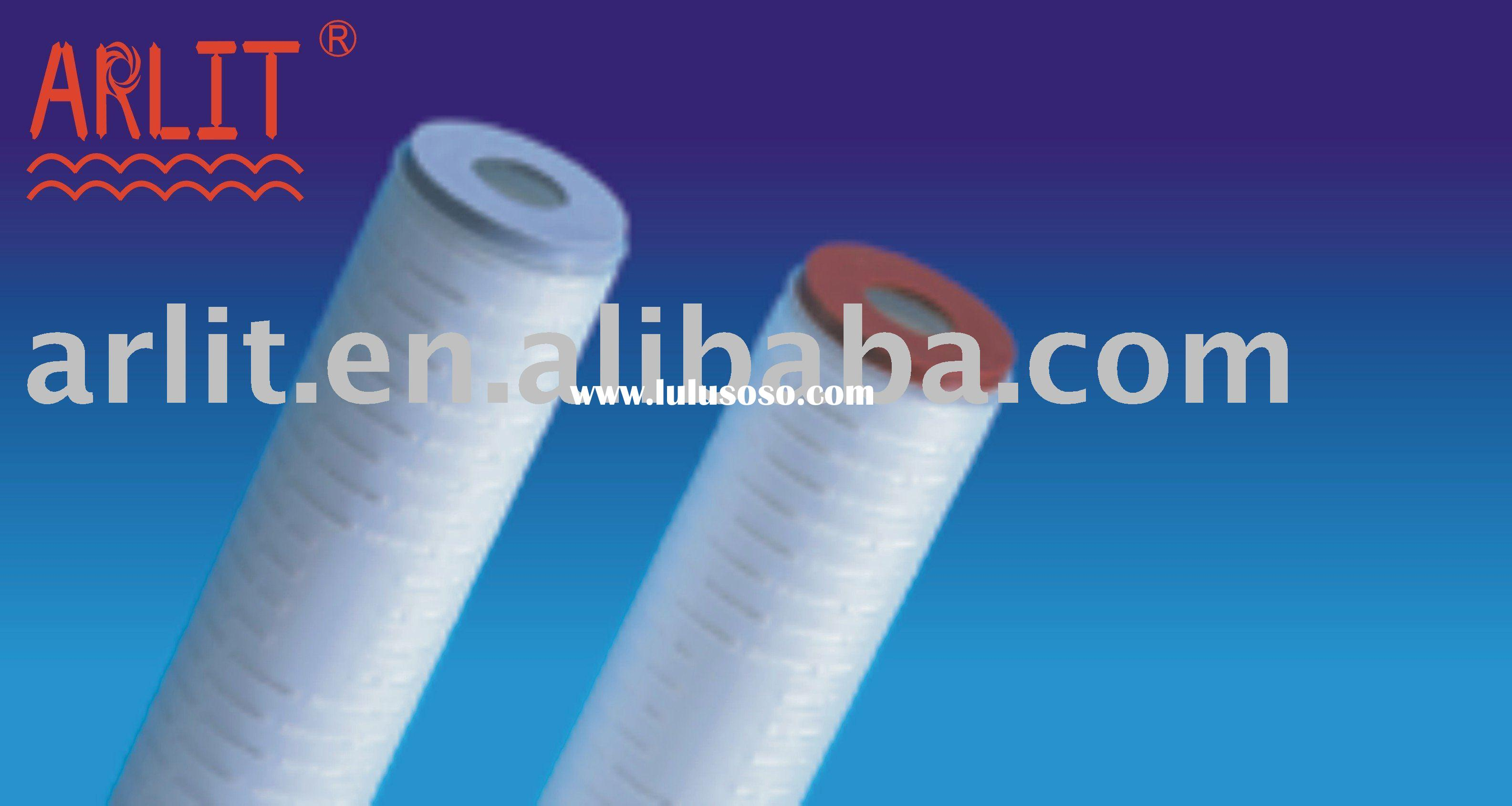 Water filter cartridge for water treatment