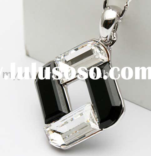 Wholesale--Fashion Jewelry Necklace, Swarovski Crystal Necklace Support OEM and Mix color JA0006