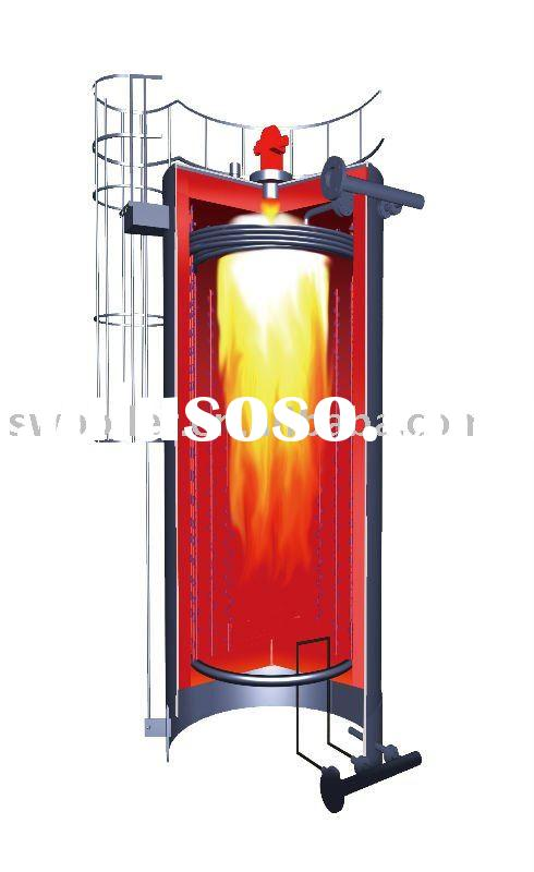 YQL-180KW natural gas fired thermal oil boiler
