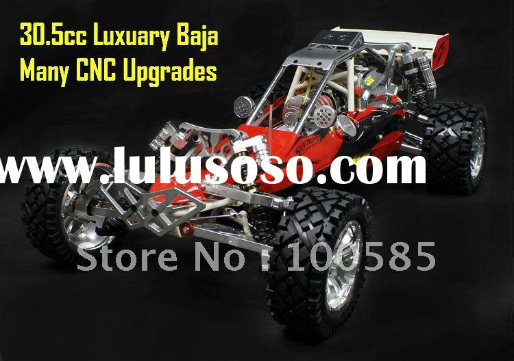 ***Super***30.5cc RC Baja with 2.4G transmitter RTR + CNC alloy front & rear Bumper + Alloy Whee