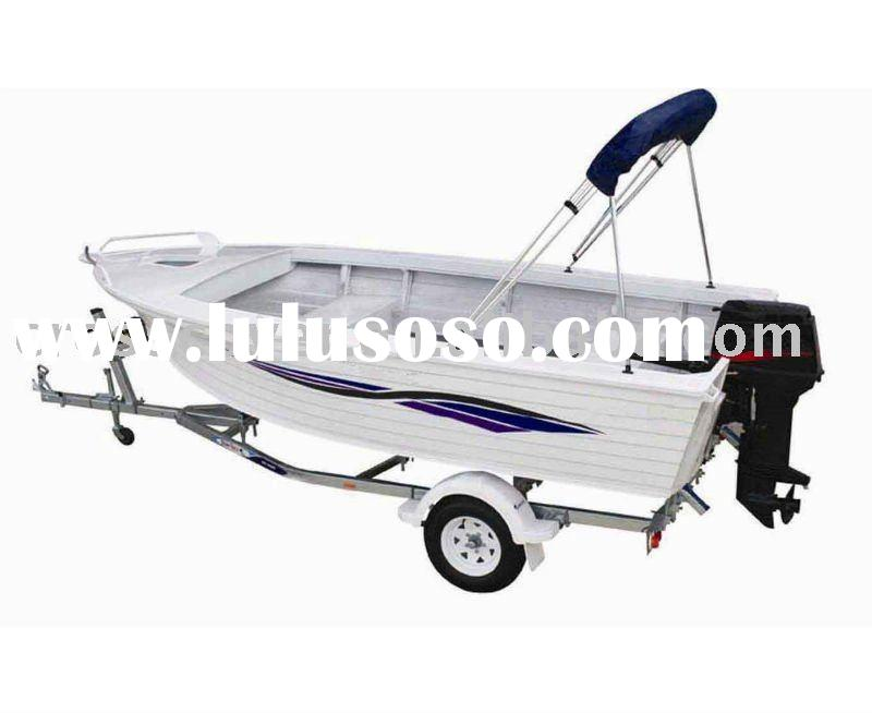 aluminium boats for fishing