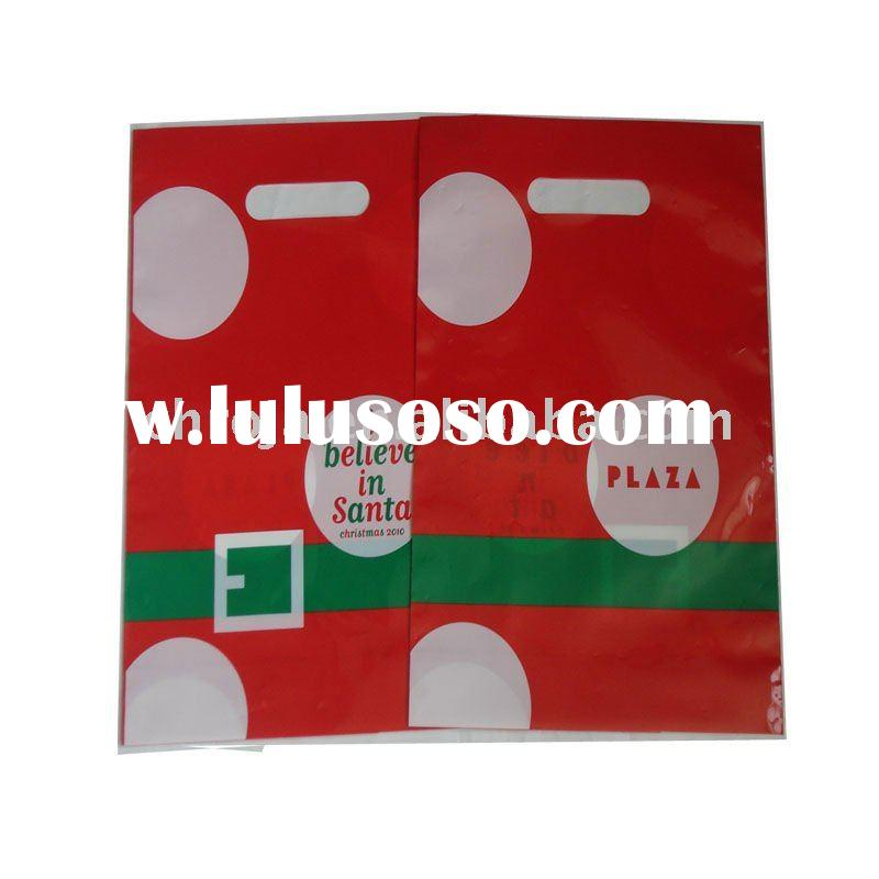biodegradeable plastic shopping bag with handle