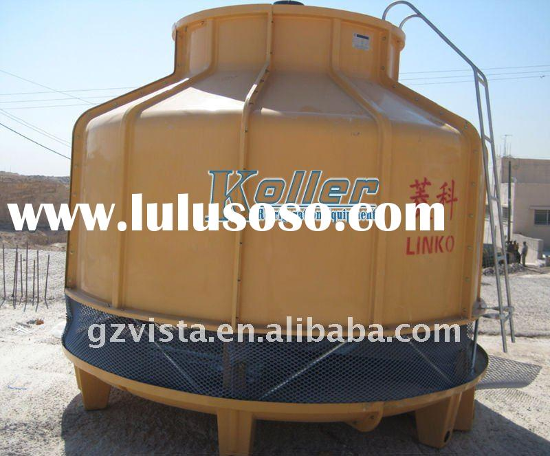 block ice machine with big cooling tower