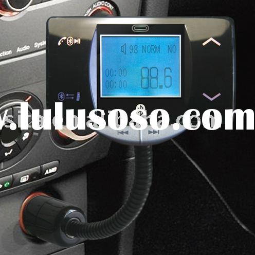 bluetooth fm transmitter and handsfree car kit