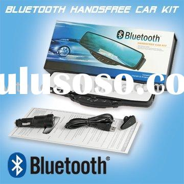 bluetooth handsfree car kit with parking sensor