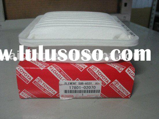 car air filter for TOYOTA Vios 17801-02070