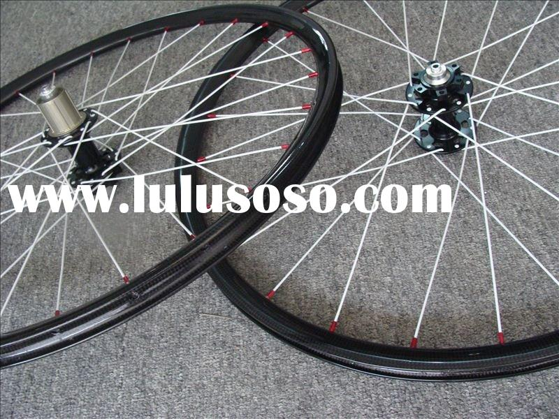 carbon MTB wheelset, 23mm carbon clincher bicycle wheel, carbon bike wheelset, road bike wheels, car