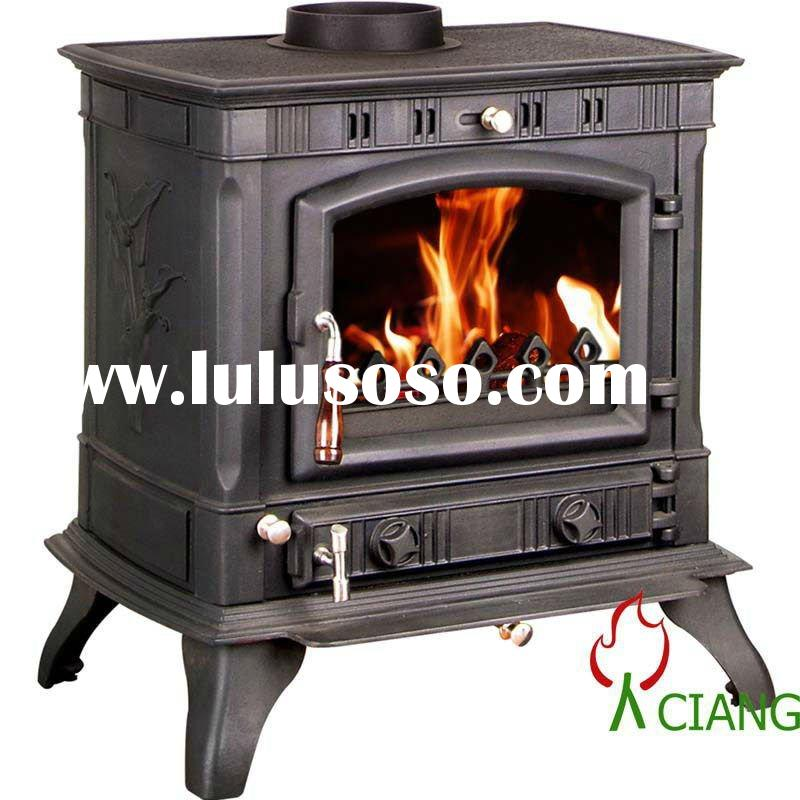 Cast iron wood pellet stove for sale price china