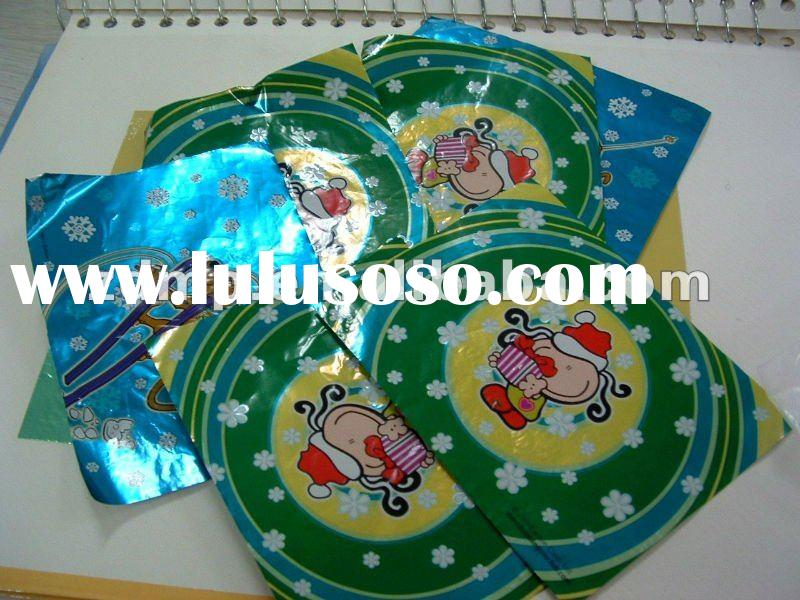 chocolate package with funny cartoon