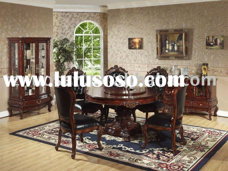 wooden round dining table and chairs  wildwoodsta, Dining tables
