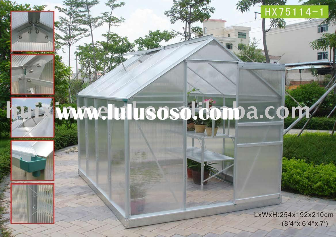 commercial /professional /best seller greenhouse kits project HX75114-1