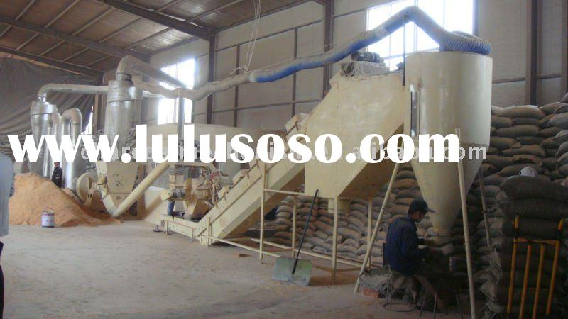 completely wood pellet plant with air steam dryer 0086-15205322575
