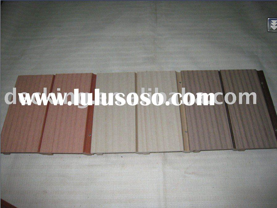 composite exterior wall building material