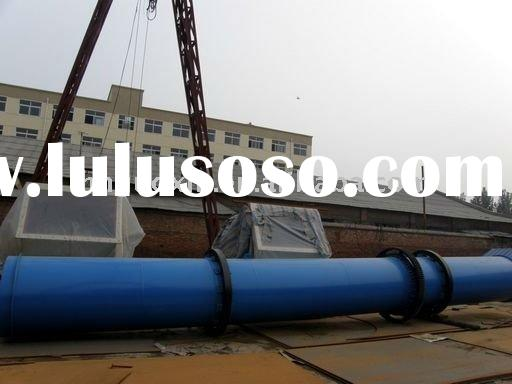 compound fertilizer pig manure dryer with good returns in cyclindrical shaped