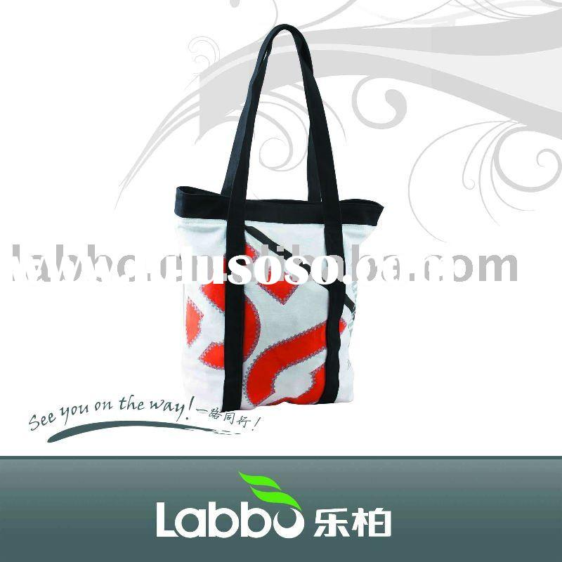 customized non-woven shopping bag/recycled Biotherm DIY