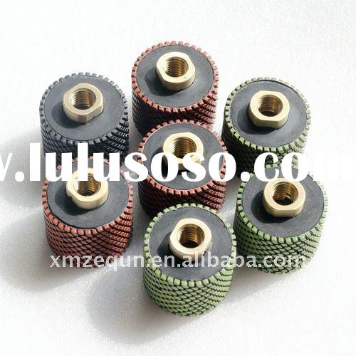 diamond resin polishing drum wheels for stone/granite diamond polishing wheel