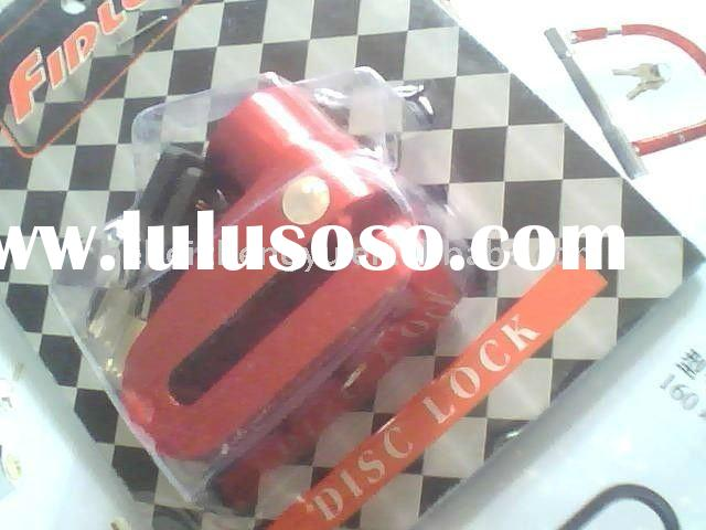 disc brake motorcycle lock