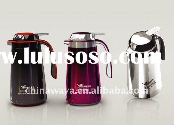 double wall stainless steel vacuum coffee thermos 1800ml