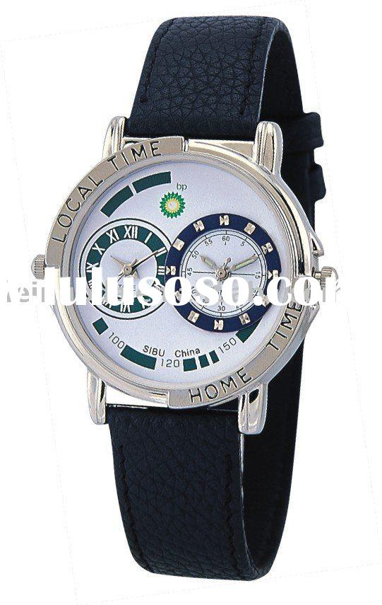 dual time watch, two movment watch