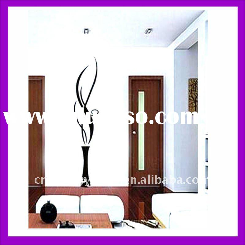eco-friendly modern wall art decoration decals