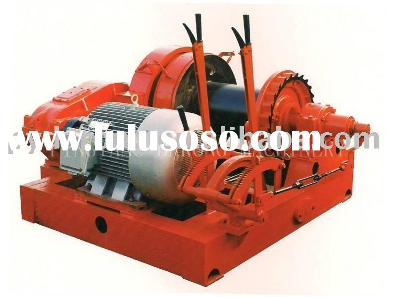 electric free fall winch (marine winch, anchor winch)