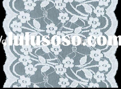 embroidered cotton lace trim