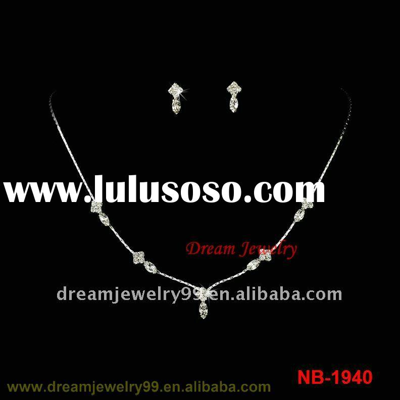 fashion indian bridal stone jewelry sets