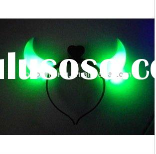 fashion led flashing horn hair band latest cute plastic party hairband wedding headband hairband hea