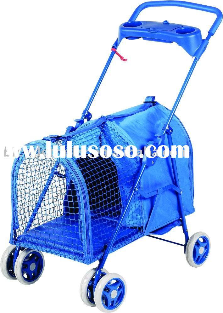 foldable dual-function pet stroller