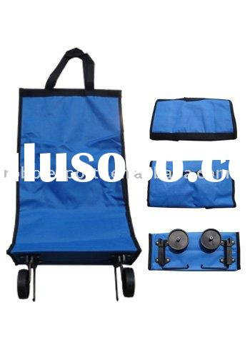 foldable shopping bag,wheeled shopping bag,Folding Wheel shopping bag