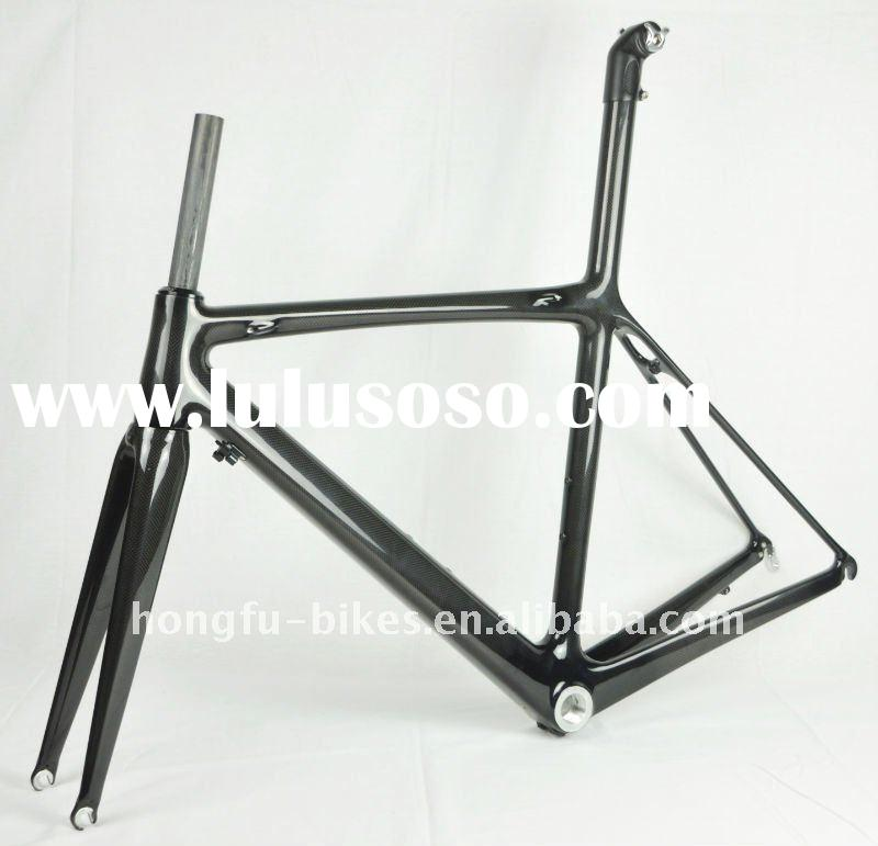 full carbon road racing bicycle frame