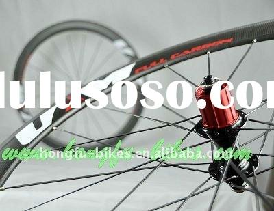 full carbon wheels,road bicycle wheels with decals UM 50mm