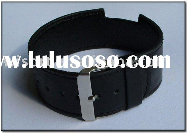 genuine leather watch band for iPod nano 6 strap