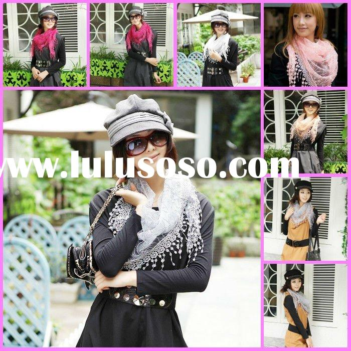girl`s wholesale china lace scarf