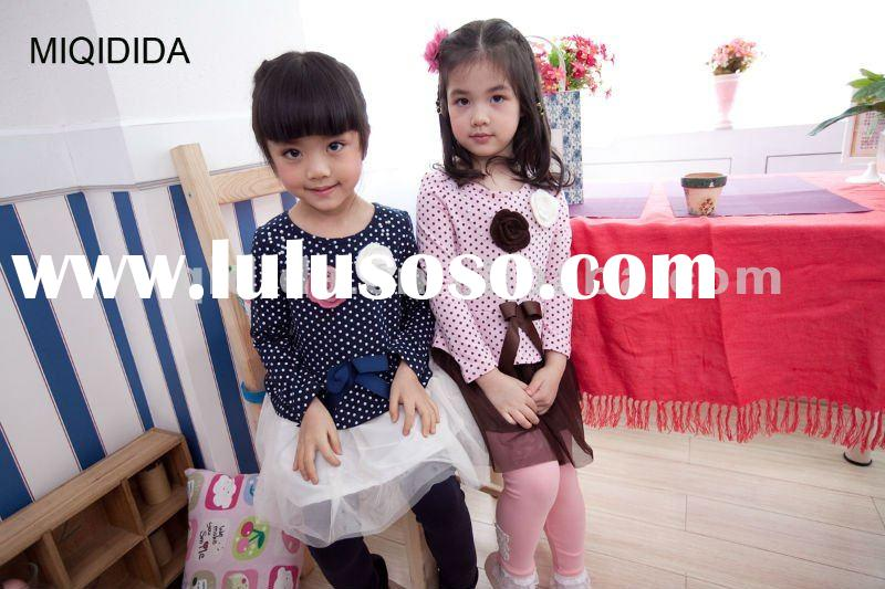 girls flower dress for 2012 spring /latest designs/3-12years old