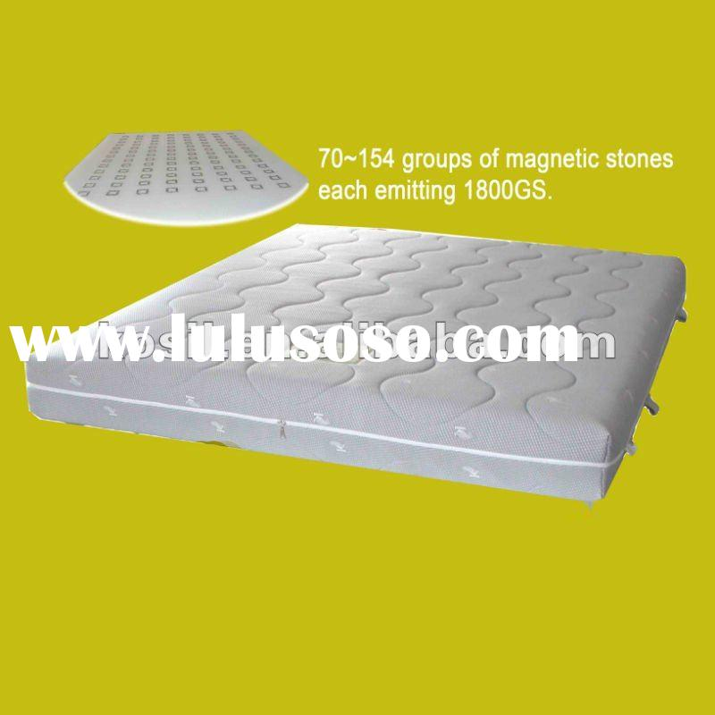 healthy sleep magnetic therapy 3D bed mattress mat