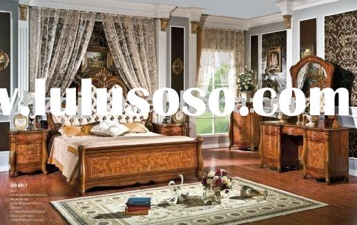 home furniture european classic bedroom furniture 8011