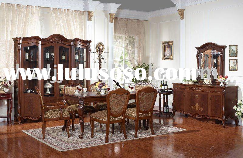 home furniture european classical dining room set 8036