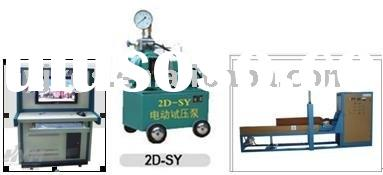 horizontal computer controlED CNG Cylinder hydrostatic testing machine