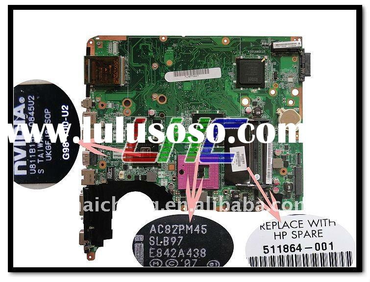hot sale promotional DV6 511864-001 Intel for HP used laptop motherboard_PM45 DDR2