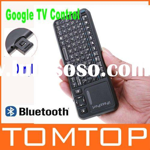 iPazzPort Mini Wireless bluetooth keyboard with Laser pen & Touchpad for Google TV