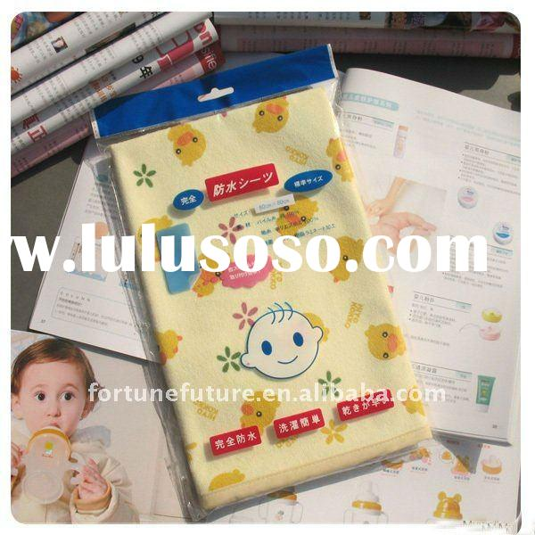 incontinence bed sheet for baby