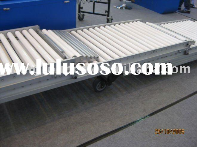 industrial production line portable roller conveyor system