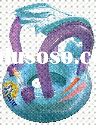 inflatable baby water seat,inflatable baby float seat,inflatable baby sunshade water seat
